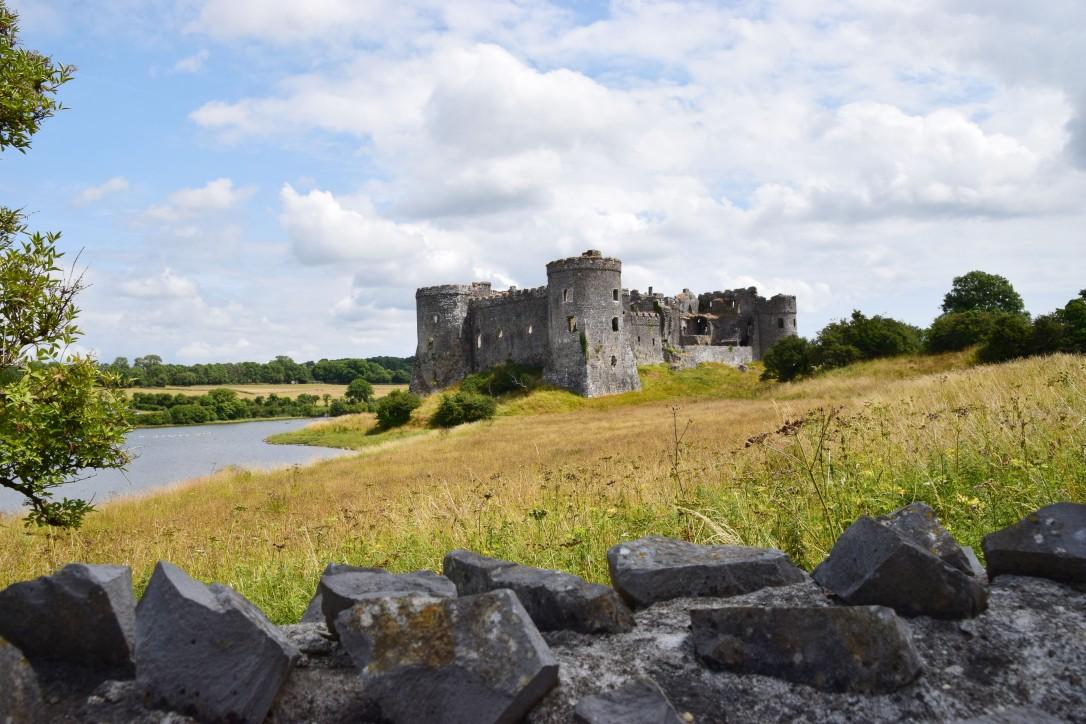 Carew castle View